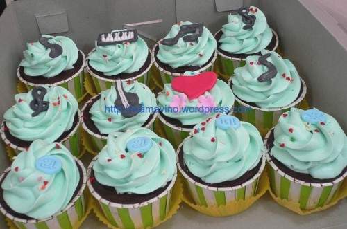 love-music cupcake - mommycakes jogja